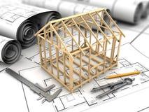 House frame model Stock Image