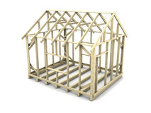 House frame project Stock Photo