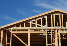 House Framing royalty free stock image