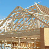 House Framing Exterior Of Building Stock Photography