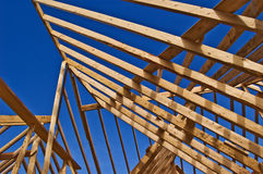 House Framing of Home construction Royalty Free Stock Images