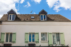 House in France Stock Images