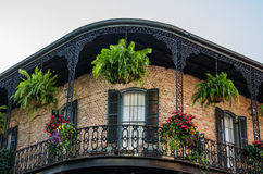 House in French Quarter - New Orleans Stock Photography