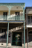 House in French Quarter - New Orleans. Facade of old house in French Quarter of New Orleans Stock Images