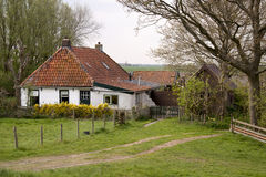 House in Friesland Royalty Free Stock Photography