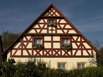 House front in bavaria Royalty Free Stock Photo