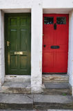 House Front Doors Royalty Free Stock Image