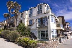 House front of the manhattan beach in california. Usa Stock Photos