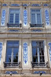 House Front in Porto, Portugal Royalty Free Stock Images
