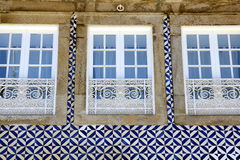 House Front in Porto, Portugal Royalty Free Stock Image