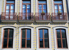 House Front in Porto, Portugal Stock Photography