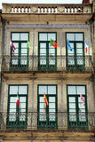 House Front in Porto, Portugal Stock Images