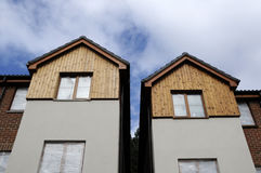 House fronts Royalty Free Stock Photo