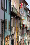 House Fronts in Porto Royalty Free Stock Photography