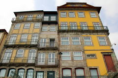 House Fronts in Porto Stock Photos