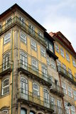 House Fronts in Porto Royalty Free Stock Images