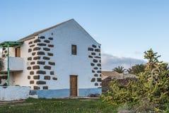 House - Fuerteventura, Canary Islands, Spain Royalty Free Stock Photos