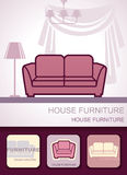 House furniture Royalty Free Stock Images