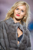 House Furs MG collection during Bucharest Fashion Royalty Free Stock Image