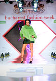 House Furs MG collection during Bucharest Fashion Stock Photos