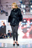 House Furs MG collection during Bucharest Fashion Stock Image