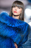 House Furs MG collection during Bucharest Fashion Stock Photo