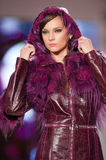 House Furs MG collection during Bucharest Fashion Royalty Free Stock Photo