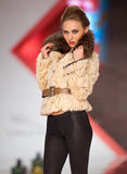 House Furs MG collection during Bucharest Fashion Royalty Free Stock Images