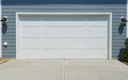 House garage door Stock Image