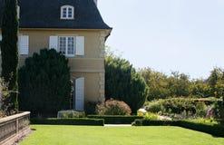 House with a garden stock photo