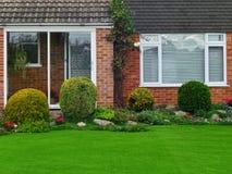 House and Garden royalty free stock photos