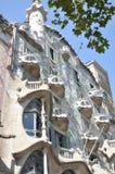 Casa Battlo. House of Bones - great work of Gaud Royalty Free Stock Photo
