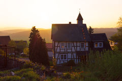 House in the German style Royalty Free Stock Image