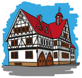 House Germany Royalty Free Stock Photography