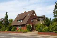 HOUSE IN GERMANY Stock Image