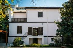 House of Ghazi Mustafa Kemal Atatürk in Thessoloniki, Greece Royalty Free Stock Image