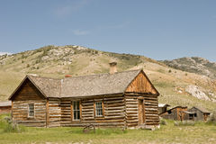 House in a Ghost Town Stock Photos