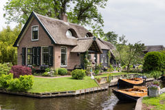 House in Giethoorn Netherlands Stock Photos