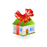 House gift. Vector Royalty Free Stock Photography