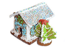 The house from gingerbreads Royalty Free Stock Photo