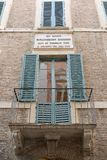 House of Gioacchino Rossini, Pesaro Royalty Free Stock Photos