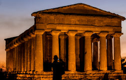 House of gods. This is one of the house of gods in a Valley of the temples, near Agrigento (Italy Stock Photography