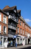 House of the Golden Key, Tewkesbury. Royalty Free Stock Photography