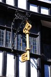 House of the Golden Key, Tewkesbury. Royalty Free Stock Image