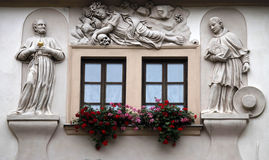 House of the Golden Well, Prague, Royalty Free Stock Photo