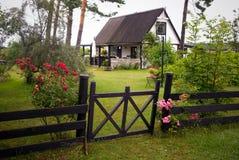 House on Gotland Stock Photos
