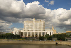 The house of the Government of Russia Stock Image