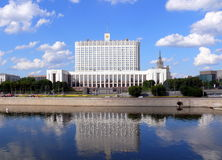 House of government of Russian Federation Royalty Free Stock Photos