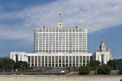 House of the government of the Russian Federation Stock Photos