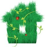House of grass Stock Images